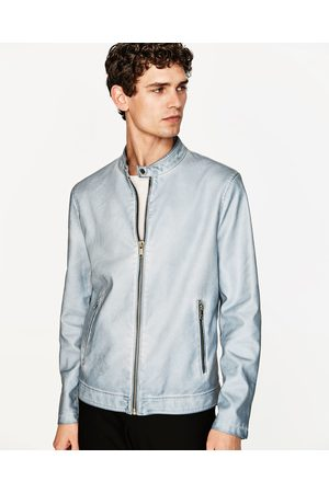 Zara Faux Jacket Men S Leather Jackets Compare Prices And Buy Online
