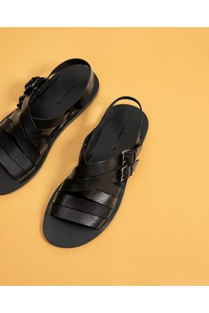 Men Sandals - Zara STRAPPY LEATHER SANDALS - Available in more colours