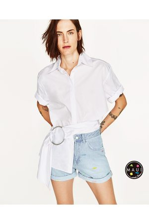 92f9895343 Zara mom shorts women's trousers & jeans, compare prices and buy online