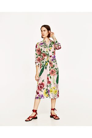Buy zara printed dresses for women online fashiola compare women tunics zara printed tunic with knot mightylinksfo