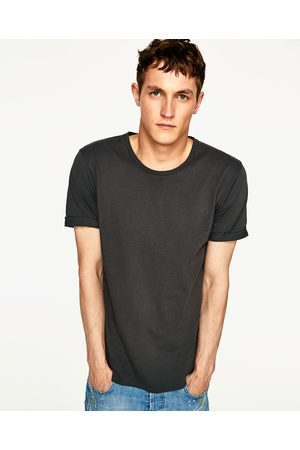 Men T-shirts - Zara LONG RIPPED T-SHIRT - Available in more colours