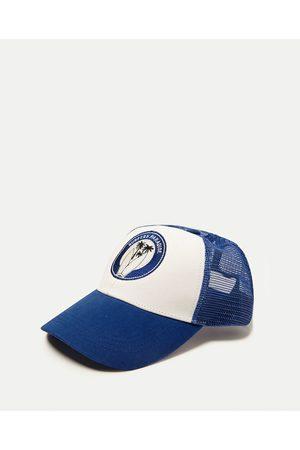 Men Caps - Zara SURF MOTIF CAP