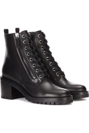Gianvito Rossi Croft leather ankle boots