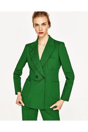 À Femme 2018 La – Zara Verte Vestes Veste Mode vUnCwxFqwX