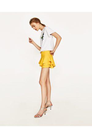 Women Zara RUFFLED SKORT - Available in more colours