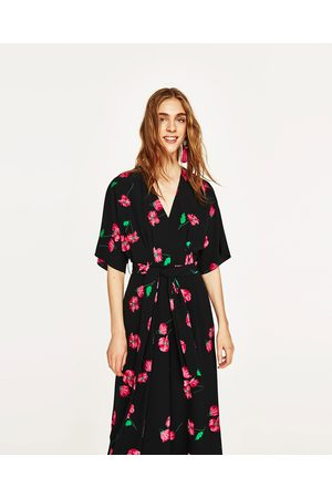 6db3c5be163 Zara buy online women s printed dresses