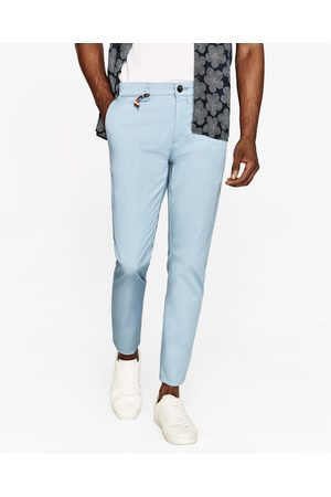 Men Chinos - Zara SKINNY FIT CHINO TROUSERS - Available in more colours