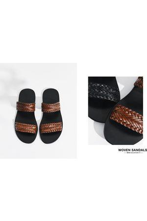 Men Sandals - Zara Braided sandals
