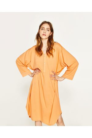 Women Tunics - Zara LONG STRIPED TUNIC - Available in more colours