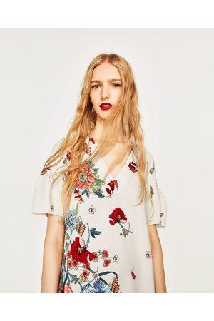 3b7562ae418c Women Printed Dresses - Zara FLORAL PRINT DRESS