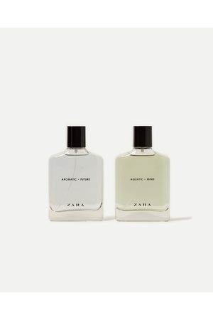 Men Fragrances - Zara AROMATIC FUTURE 100 ML + AQUATIC MIND 100 ML