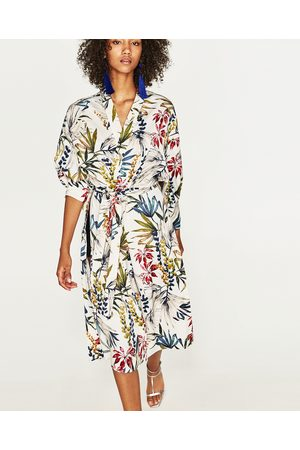 be255e306ee6 Women Kimonos - Zara LONG PRINTED KIMONO