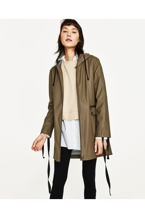 Women Parkas - Zara WATER REPELLENT PARKA - Available in more colours