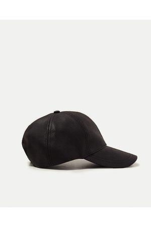 Men Caps - Zara RUBBERIZED CAP