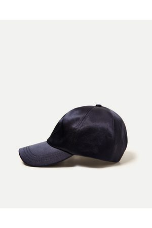 Men Caps - Zara SLOGAN CAP