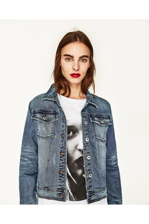 Women Denim Jackets - Zara DENIM JACKET