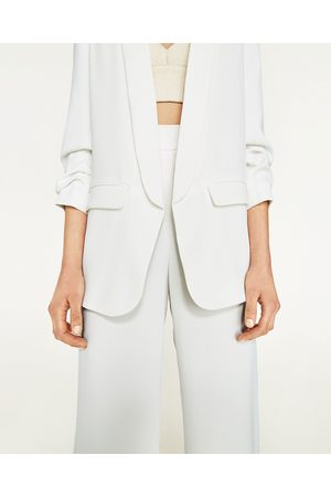 23d1bb8724e8c Zara CREPE BLAZER - Available in more colours