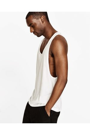 Men Tank Tops - Zara LONG DELUXE TANK TOP - Available in more colours