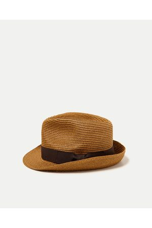 Men Hats - Zara STRAW HAT