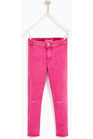 Girls Jeggings - Zara Frayed jeggings - Available in more colours
