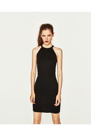 Women Halterneck Dresses - Zara HALTER NECK DRESS - Available in more colours