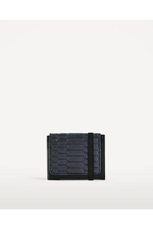 Men Purses & Wallets - Zara QUILTED WALLET - Available in more colours