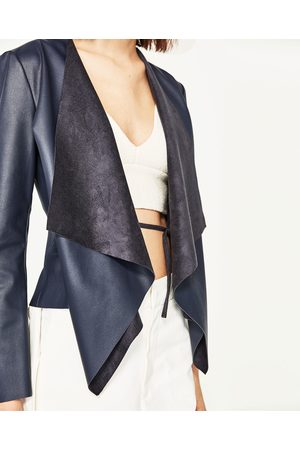 Zara Faux Jacket Women S Leather Jackets Compare Prices And Buy Online