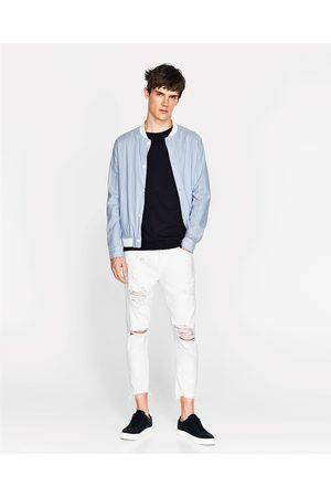Men Jeans - Zara RIPPED JEANS