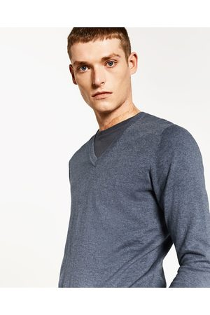 c2ed34551fe1 Men Jumpers   Sweaters - Zara PLAIN SWEATER - Available in more colours