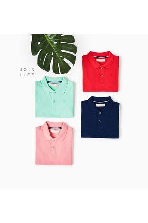 Boys Polo Shirts - Zara BASIC PIQUÉ POLO SHIRT - Available in more colours