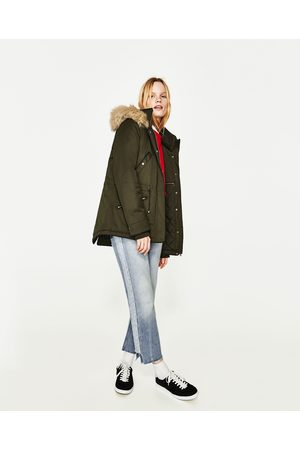e74c992cd80de Zara winter coat women s parkas