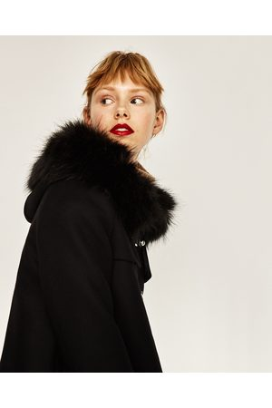 Women Coats - Zara A-LINE DUFFLE COAT