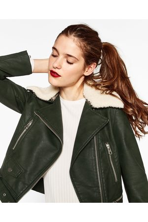 Zara Effect Jacket Women S Leather Jackets Compare Prices And Buy
