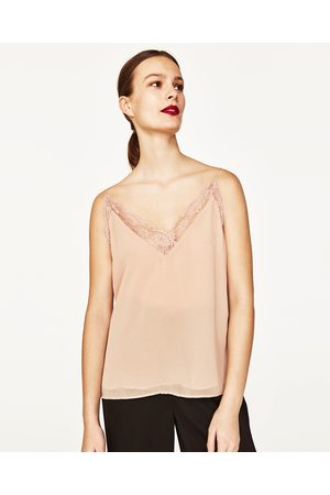 498ff9a1eaaeb Zara t shirts online women s vests   camis