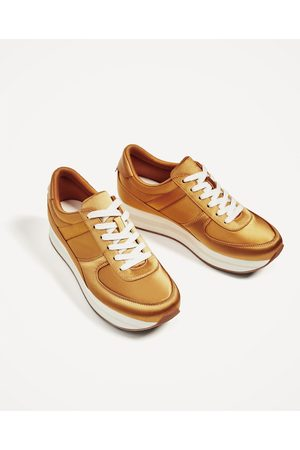 99aae6fbb00c Zara with open women's trainers, compare prices and buy online