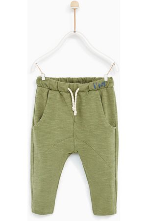 Trousers - Zara PLUSH JERSEY HAREM TROUSERS - Available in more colours