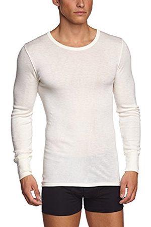Men Long sleeves - Hanro Mens Wool & Silk Long Sleeved Shirt (Large)