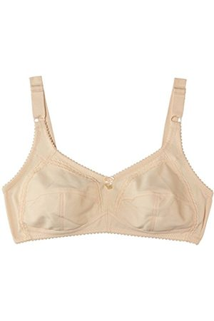 Women Bras & Bustiers - NATURANA Women's Firm Control Poly Cotton Full Cup Everyday Bra