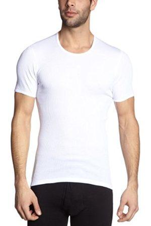 Men Short Sleeve - Schiesser Men's 005068-100 Vest