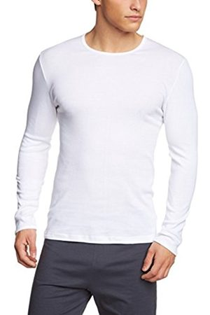 Men Long Sleeve - Calida Men's Crew Neck Long Sleeve Vest - - Large