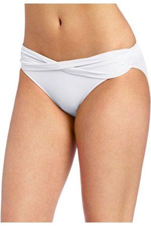 Women Bikinis - Seafolly Women's Twist Band Hipster Hipster Plain Bikini Bottoms - - S