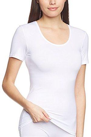 Women Short Sleeve - Calida Women's Top kurzarm Comfort Plain Short Sleeve Vest