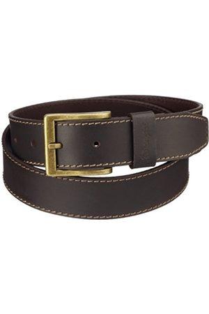 Men Belts - Wrangler Men's Basic Stitched Belt