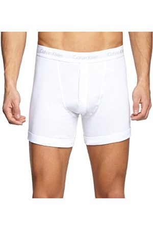Men Briefs - Calvin Klein Men's Basics Button Front Boxer Briefs