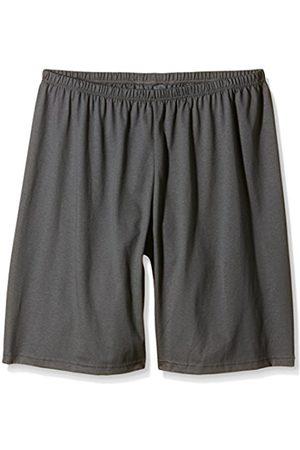 Men Trousers - Trigema Men's Herren Bermuda Sports Trousers - grey - W44