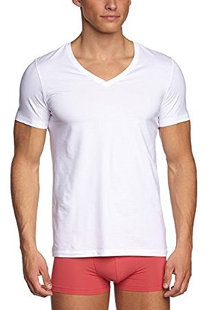 Men Short Sleeve - Hanro Men's Cotton Superior V-Neck Shirt