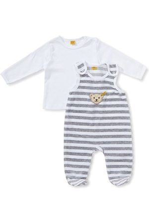 Long Sleeve - Steiff Unisex Baby 2855 Crew Neck Long Sleeve Clothing Set