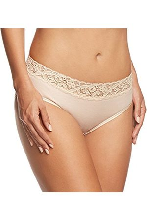 Women Slips & Underskirts - Hanro Moments Midi Brief (X-Small, White)