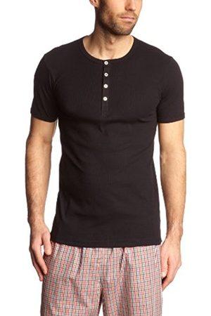 Men Short Sleeve - Schiesser Men's Plain Short Sleeve Vest - - XXXX-Large
