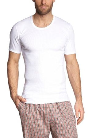 Men Vests & T-shirts - Schiesser Men's Vest, 205175-100